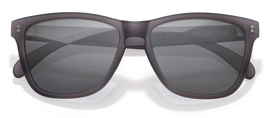 Grey Black Custom Sunski Headland Polarized Sunglasses