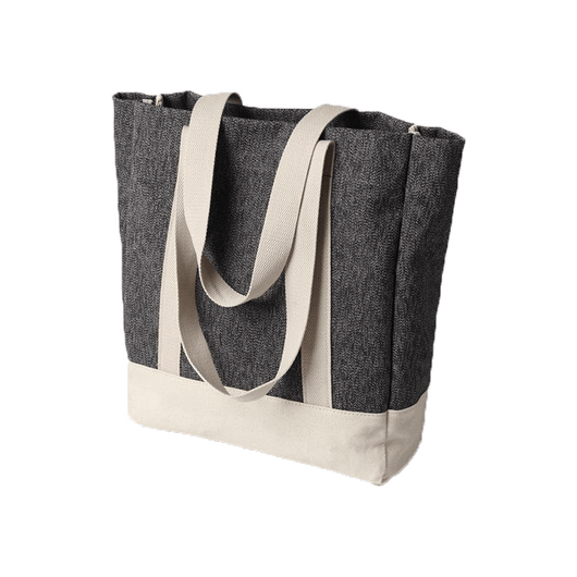 Grey Custom Vintage Daily Tote