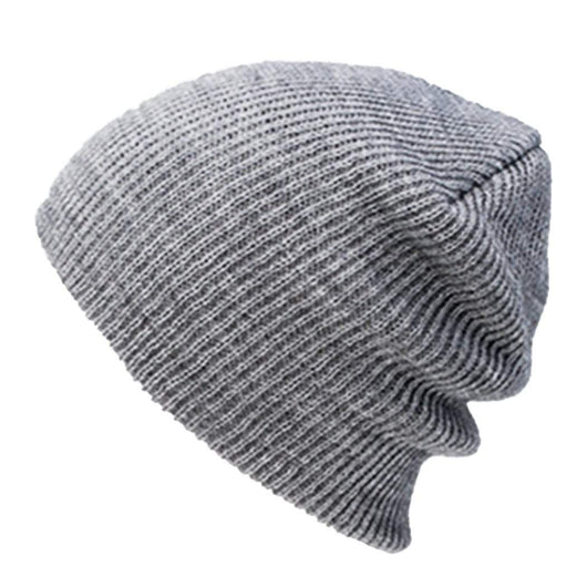 Heather Grey Custom Slouch Beanie