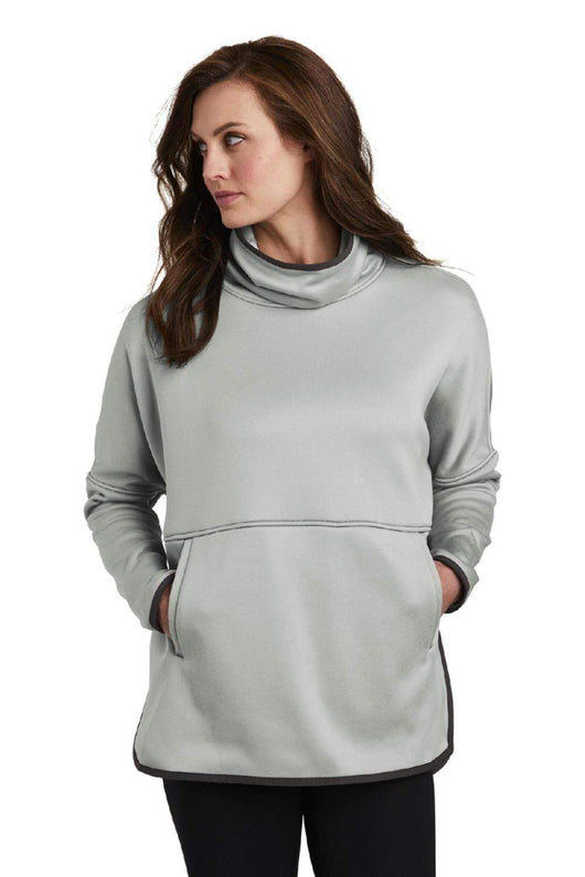 High Rise Grey Heather / SM Custom The North Face Ladies Canyon Flats Stretch Poncho