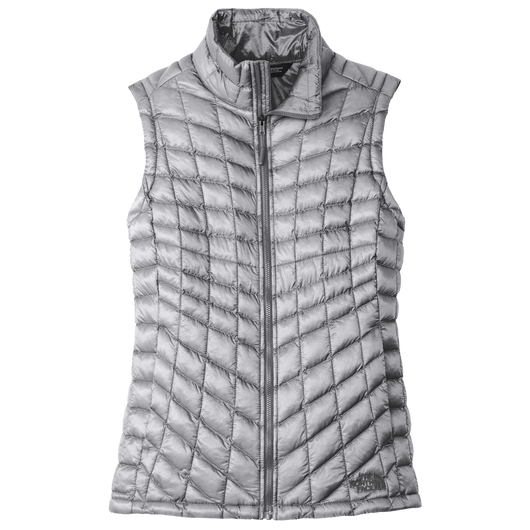 Mid Grey / SM Custom The North Face Ladies ThermoBall Trekker Vest