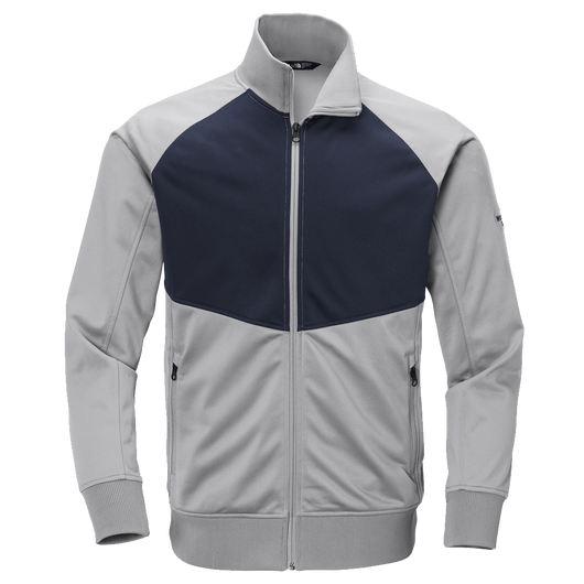 Mid Grey/Urban Navy / SM Custom The North Face Tech Full-Zip Fleece Jacket