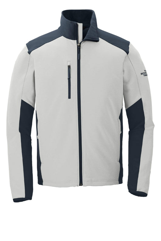 Mid Grey/Urban Navy / SM Custom The North Face Tech Stretch Soft Shell Jacket
