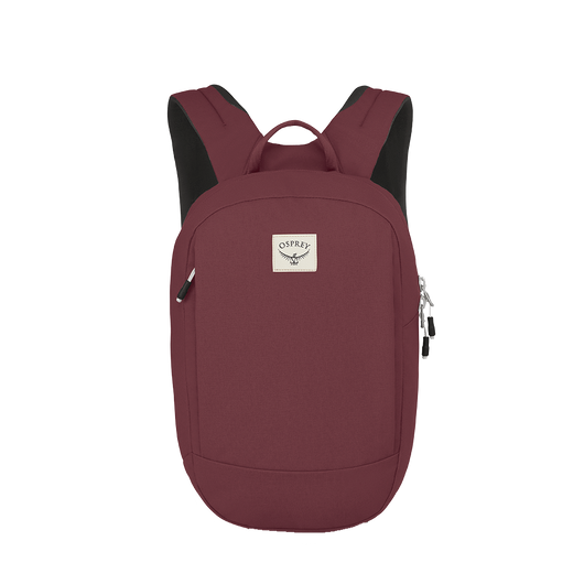 Mud Red Custom Osprey Arcane Small Day Pack