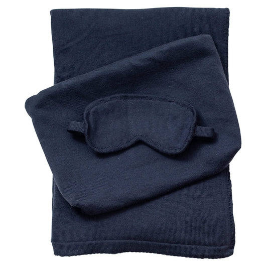 Navy Custom Organic Cotton Travel Set