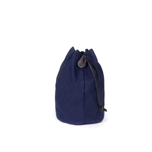 Navy Custom Waxed Canvas Drawstring Kit