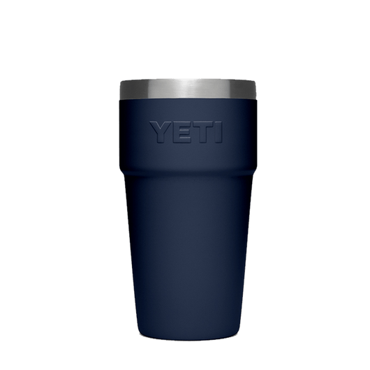 Navy Custom YETI Rambler 16oz Stackable Pint