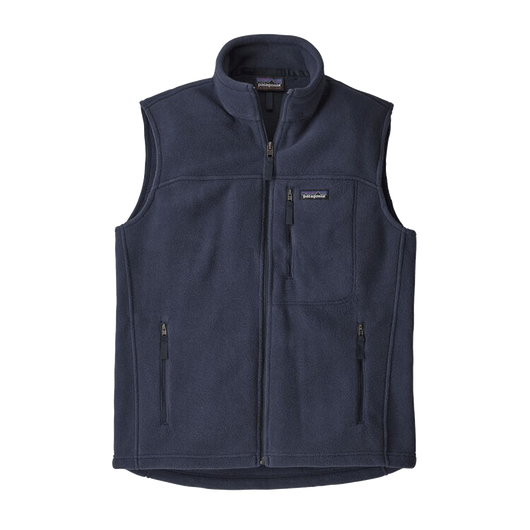 New Navy / XS Custom Patagonia Men's Classic Synchilla Fleece Vest