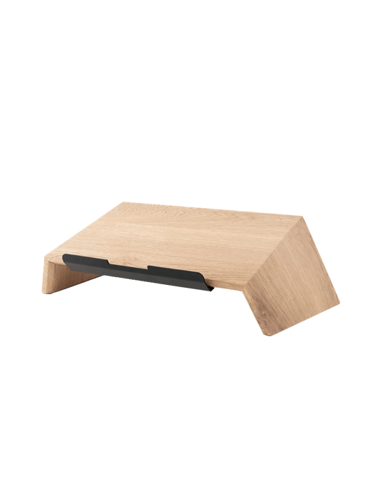 Oak Custom Solid Wood Laptop Stand