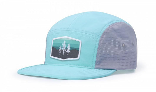 Smoke Blue/Charcoal Custom Pacific Crest Trail Hat