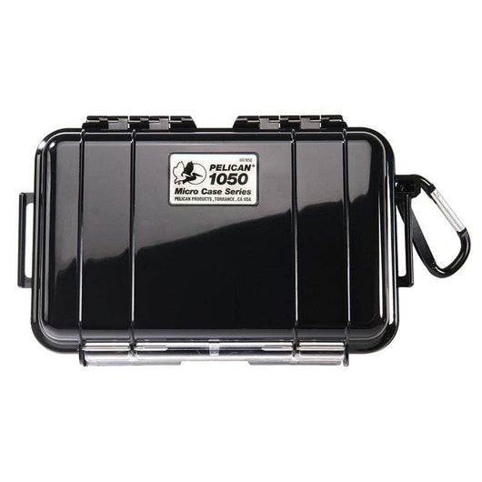 Solid Black Custom Pelican 1050 Micro Case