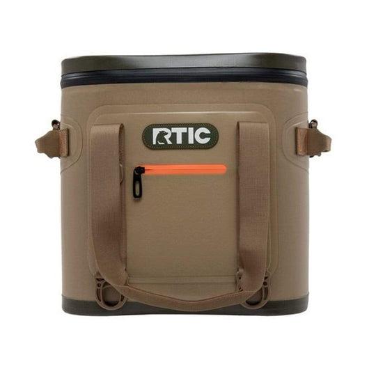 Tan Custom RTIC SoftPak 20 Can Soft Cooler