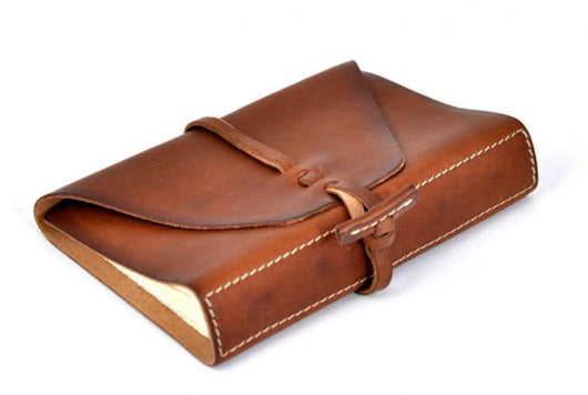 Terra Custom Medium Vachetta Leather Handmade Journal