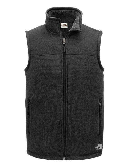 TNF Black / SM Custom The North Face Sweater Fleece Vest