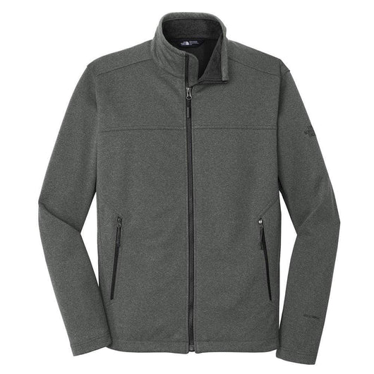 TNF Dark Grey Heather / SM Custom The North Face Ridgeline Soft Shell Jacket