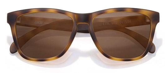 Tortoise Brown Custom Sunski Madrona Polarized Sunglasses