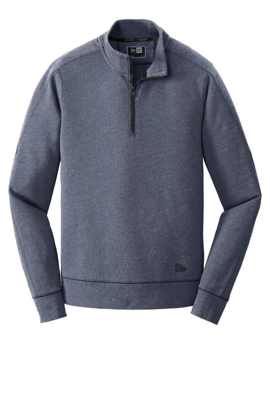 True Navy Heather / XS Custom Tri-Blend Fleece 1/4-Zip Pullover
