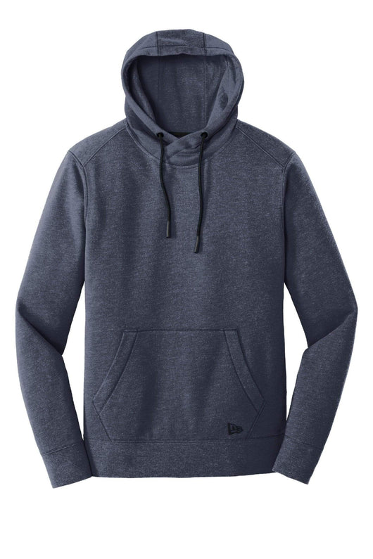 True Navy Heather / XS Custom Tri-Blend Fleece Pullover Hoodie