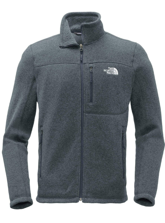 Urban Navy Heather / SM Custom The North Face Sweater Fleece Jacket