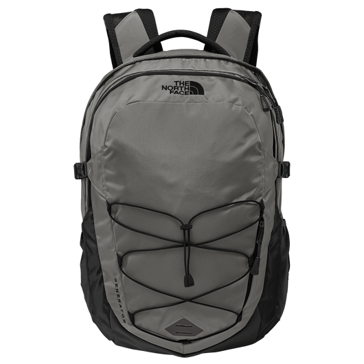 Zinc Grey Heather/TNF Black Custom The North Face Generator Backpack