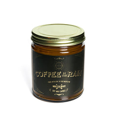 coffee in the rain vegan eco soy wax candle