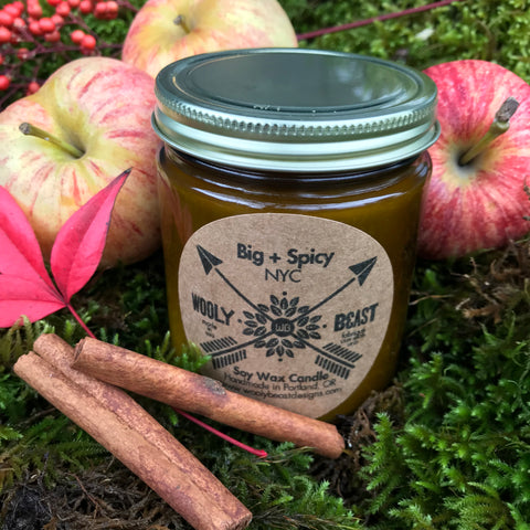 Big + Spicy Eco Vegan Soy Candle