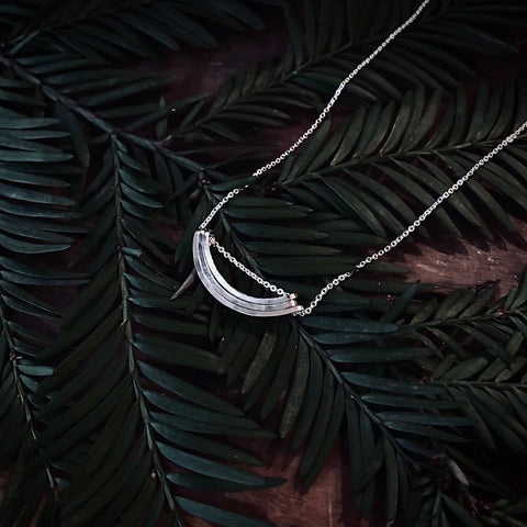 l greenwalt eco sourced mined silver jewelry necklace recycled metals made in america usa
