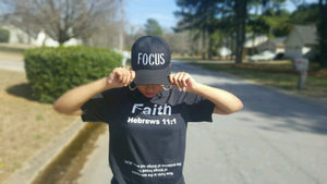 Inspirational T-Shirt called Faith with inverted scripture