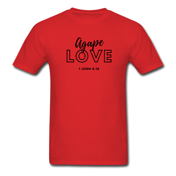 Inspirational Shirt (I-Shirt) Men's T-Shirt - red