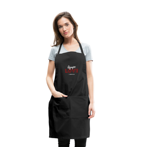 Inspirational Apron (I-Apron) Adjustable - black