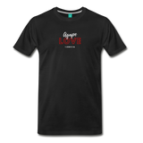 Inspirational Shirt (I-Shirt) Men's Premium Agape Love - black