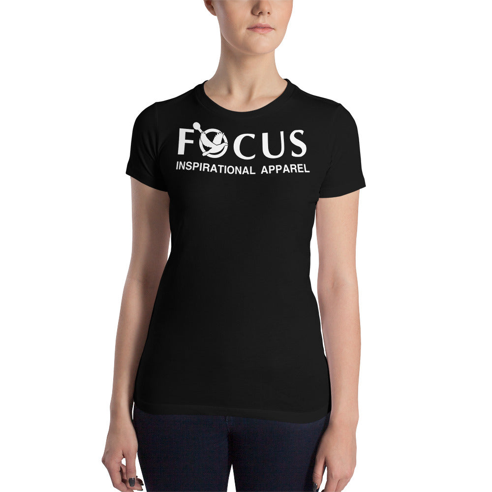 Inspirational  Shirt  (I-Shirt)  Women's Slim Fit T-Shirt  –  FOCUS