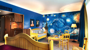 Living inside your Favorite Paintings – 7 Art Hotels Around the World