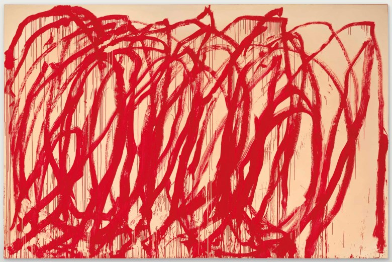 Cy Twombly, Untitled (2005)