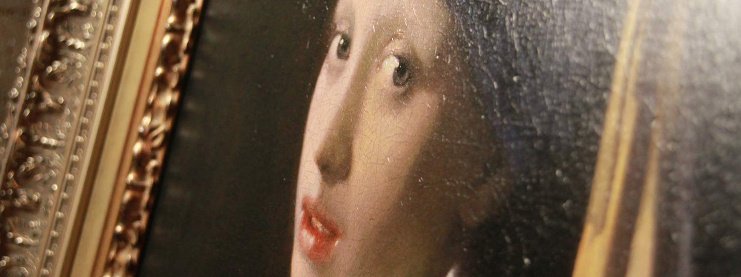Girl with a Pearl Earring 3D reproduction Close Up