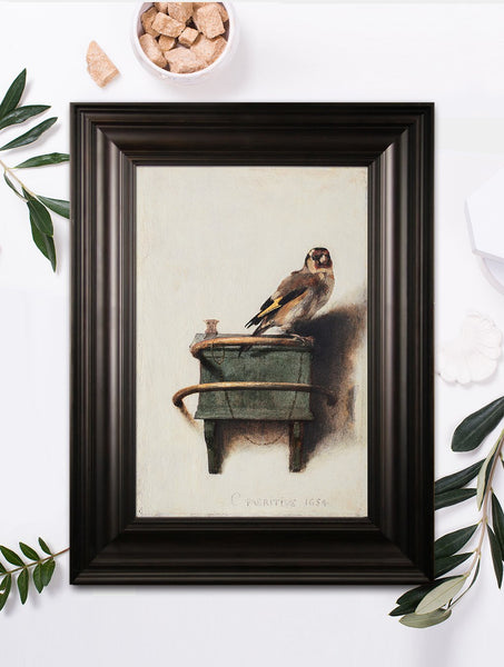 The Goldfinch Textured Reproduction
