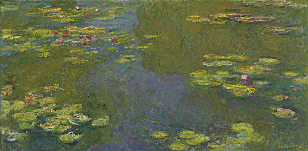 Monet Le Bassin aux Nymphéas (Water Lily Pond), 1919