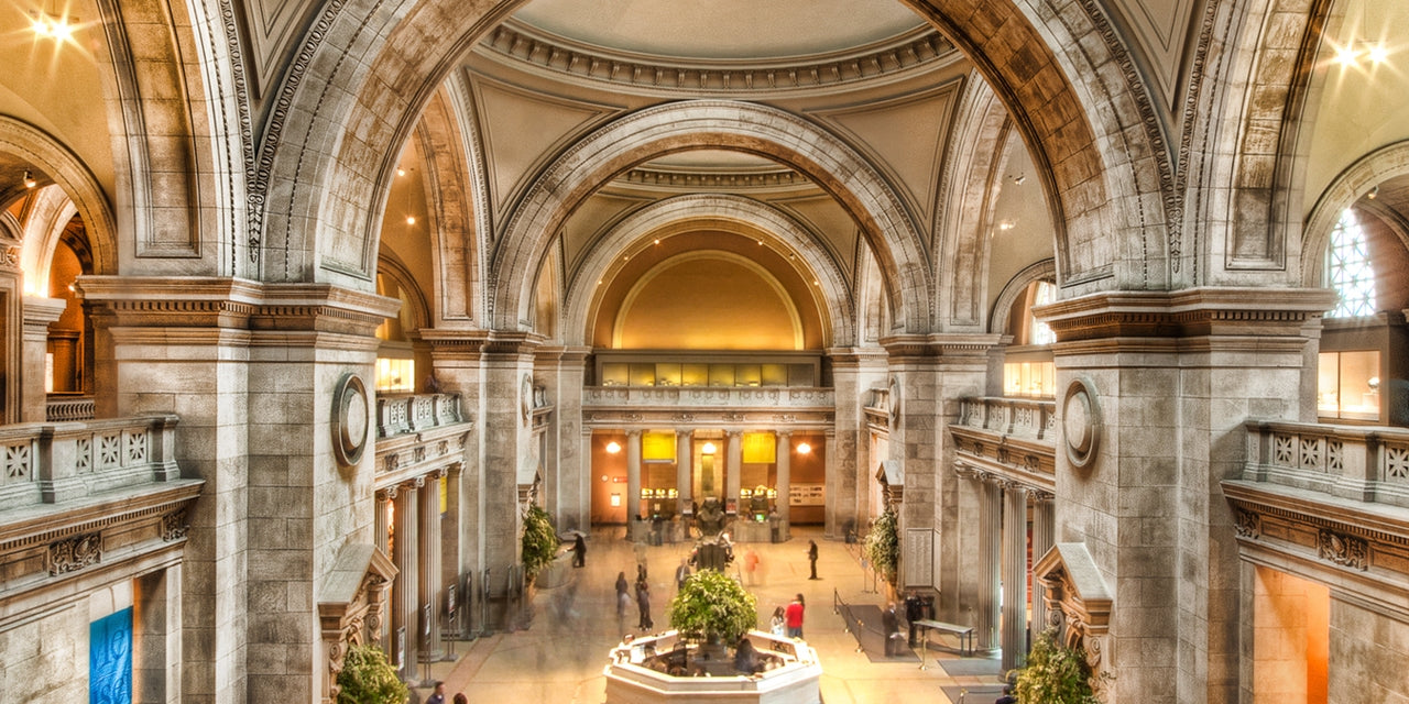 Inside the MET Museum, NYC