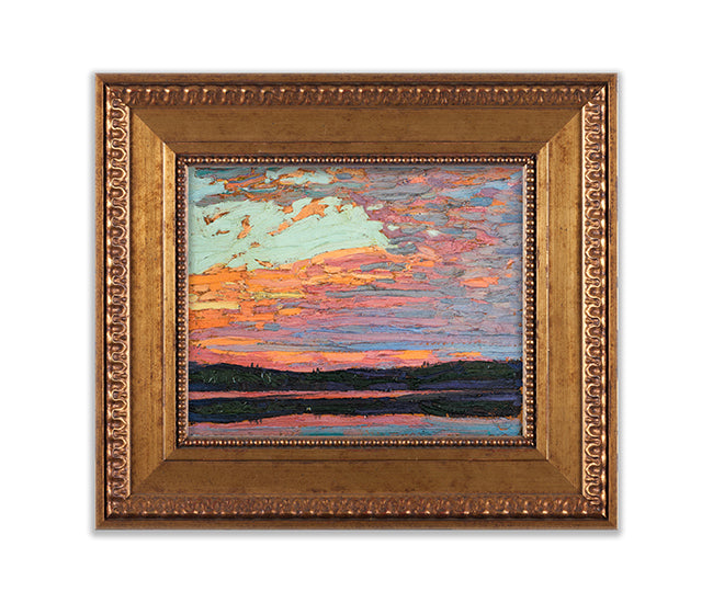 Sunset Sky Limited Edition 3D Print