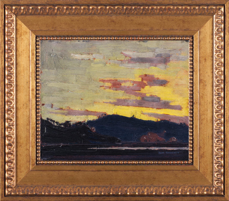Yellow Sunset Tom Thomson Reproduction