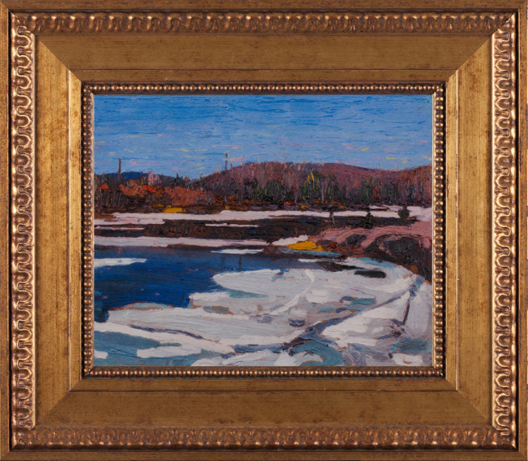 Ice in Spring Tom Thomson Reproduction