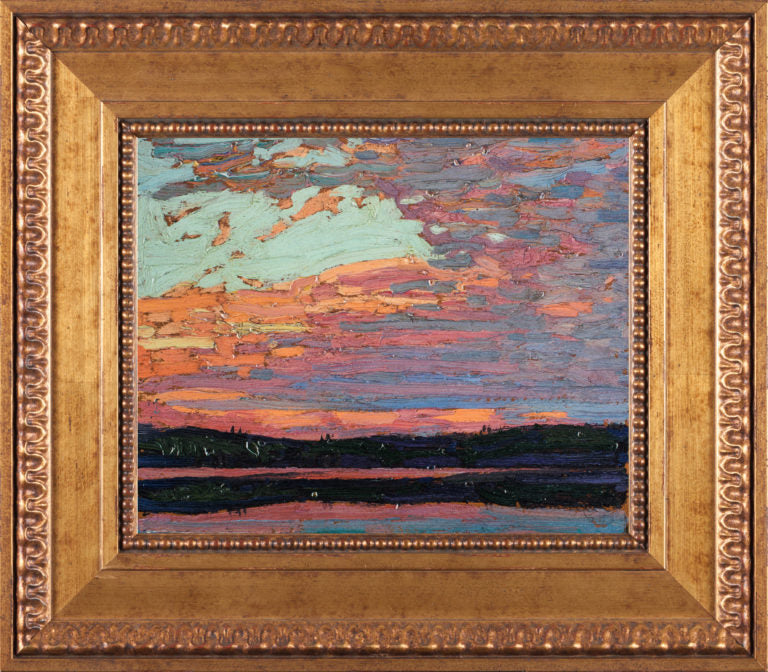 Sunset Sky Tom Thomson Reproduction