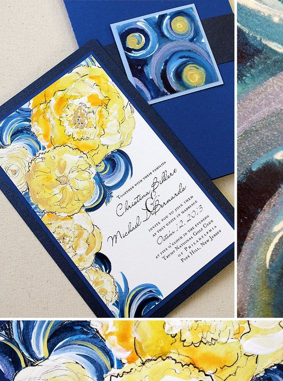 Starry Night Invite