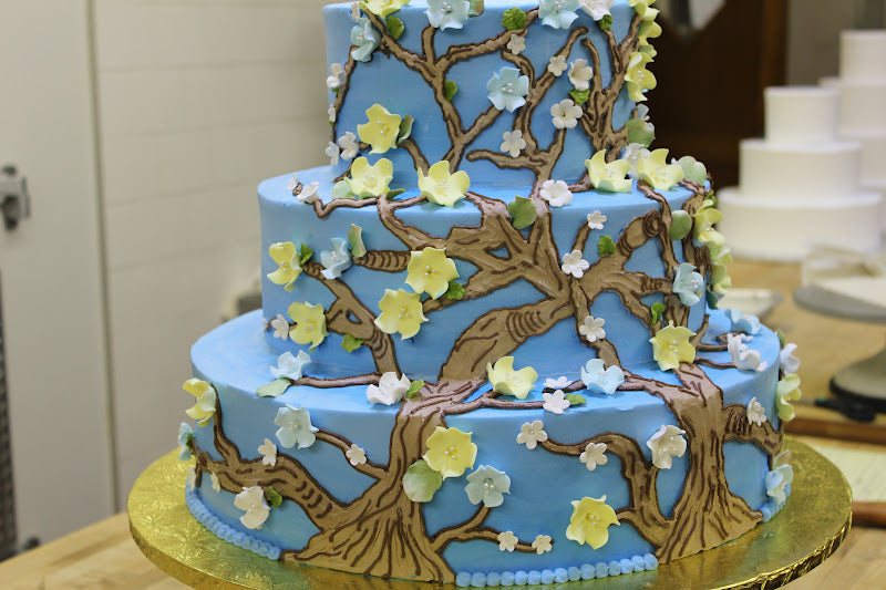 Almond Blossom Wedding Cake