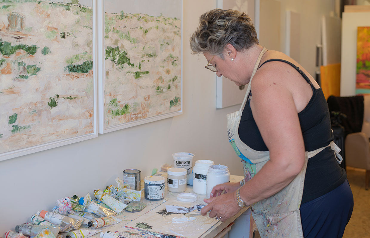 Claire Sower, Impasto Floral Artist in Vancouver, BC