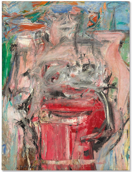 Woman as Landscape, Willem de Kooning  (1954 - 1955)