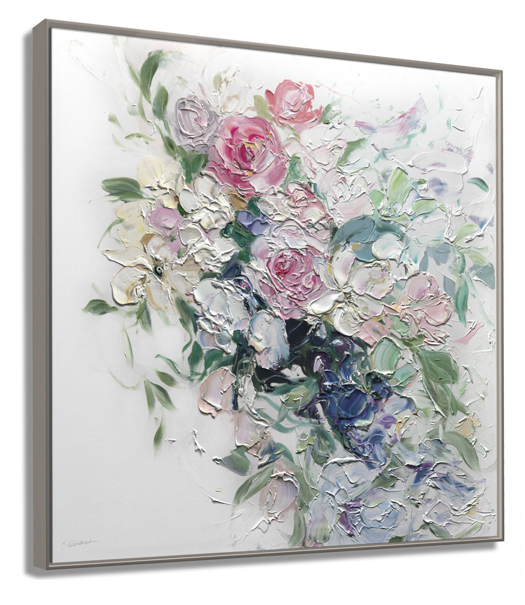 Fehrenbach's impasto brushstrokes are perfetly captured with our Géomatique™ Textured Art Print
