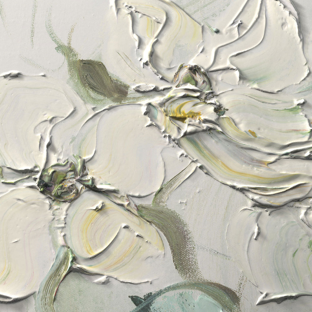 Stephanie Fehrenbach Dogwood Abstract Floral Textured Art Print Detail