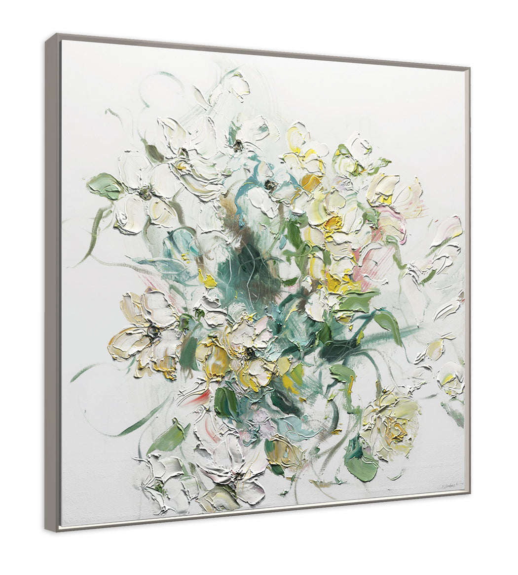 Fehrenbach's impasto brushstrokes are perfectly caputred in this Géomatique Textured Art Print