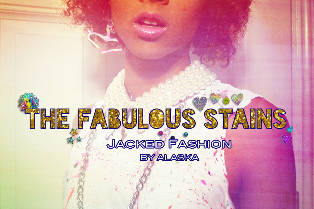 Funk the Haters: Jacked Fashion x The Fabulous Stains Collab featuring Jordan Debarge